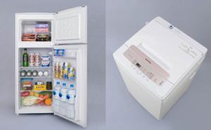 冷蔵庫118L、洗濯機5kg