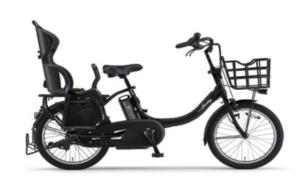 電動アシスト自転車(Bubby un リアチャイルドシート標準装備モデル)[2018](マットブラック2)