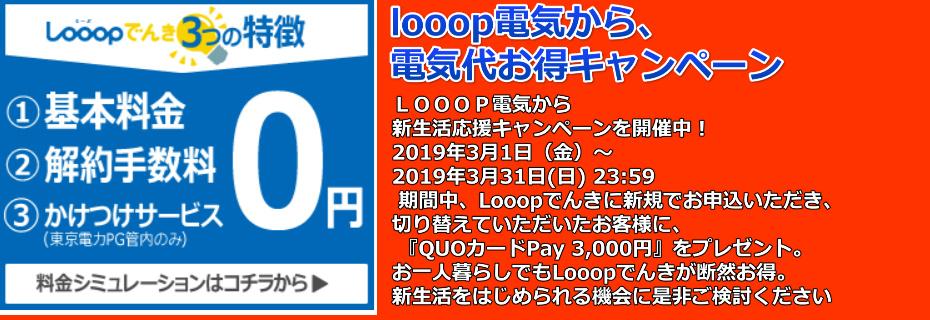 LOOOP電気バナー4