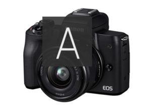 EOS標準カメラM15